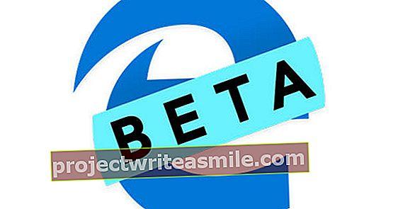 Microsoft Edge Beta - Čo je nové?