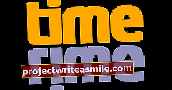 Vytvorte časovú os s TimeRime.com