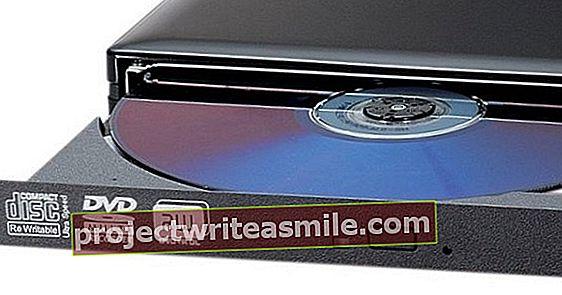 Ingen DVD-stasjon på den bærbare eller PC-en? Du klarer dette!