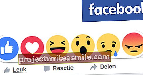Tas ir veids, kā jūs izmantojat jaunos Facebook emocijzīmes
