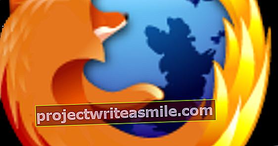 Importujte obľúbené položky do prehliadača Firefox