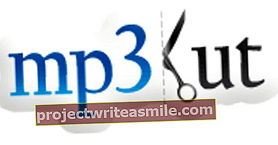 Rozdělte MP3 pomocí mp3cut.net