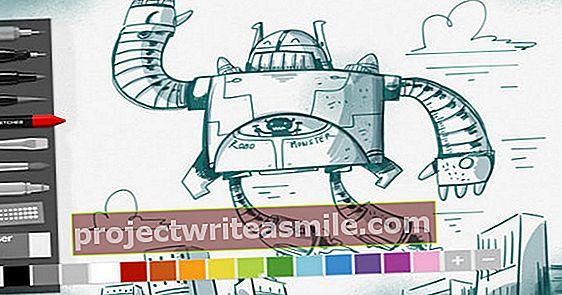 DrawPadiga saate oma arvutis joonistada ja kujundada