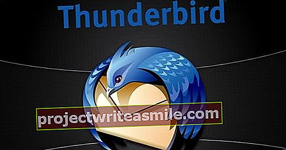 Nii saate Thunderbirdi kirju varundada