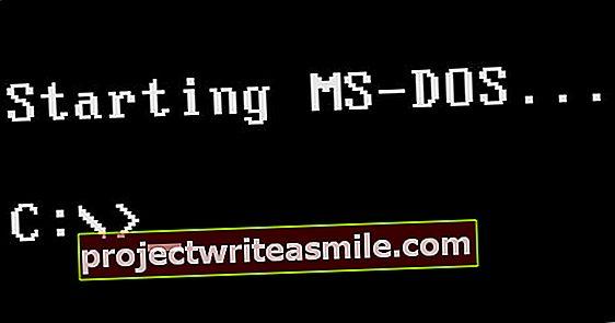 10 näpunäidet MS-DOS-i jaoks Windows 10-s