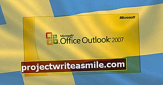 Nová aktualizace systému Windows pro švédský Outlook