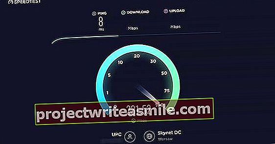 Izmēriet savu reālo interneta ātrumu, izmantojot Ookla Speedtest