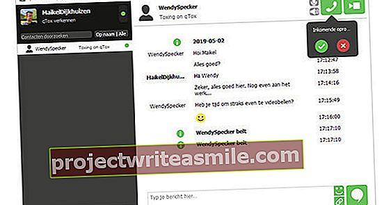 Chatujte anonymně s qTox