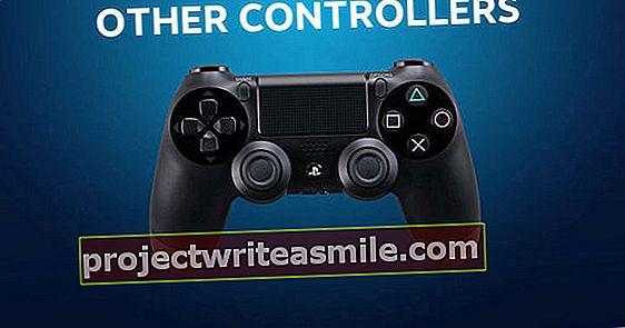 """""""Steam"""" palaikys PS4 valdiklį"""