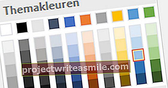 Práca s farbami v programe Microsoft Word