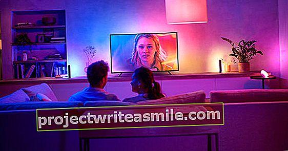 Prechodový svetelný pás Philips Hue Play: Ambilight na každom televízore