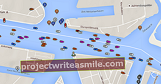 Vyhľadávač lodí sleduje každú loď Sail v reálnom čase