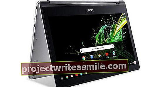 Acer Chromebook R13: Snad nejhezčí notebook