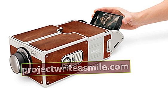 Smartphone Projector 2.0 - od lepenkové krabice po paprsek