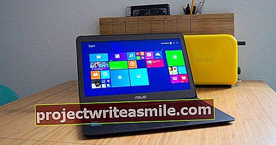 ASUS ZenBook UX305 - Ohut, kevyt ja kuiskaava hiljainen