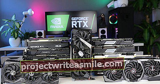18 testovaných grafických karet RTX