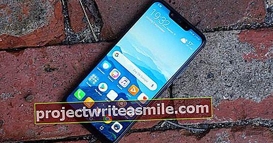Huawei Mate 20 Lite - ukážka Mate