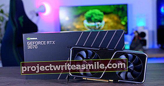 Nvidia GeForce RTX 3070 - najlepšia grafická karta v hodnote 500 EUR