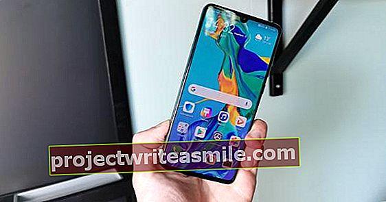 Huawei P30 - inteligentný telefón vrhá svoj tieň dopredu