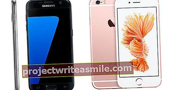 Samsung Galaxy S7 vs. Apple iPhone 6s