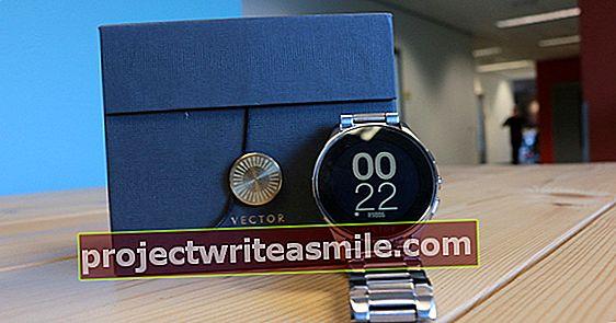 Vector Luna - Chytré hodinky bez ozdůbek
